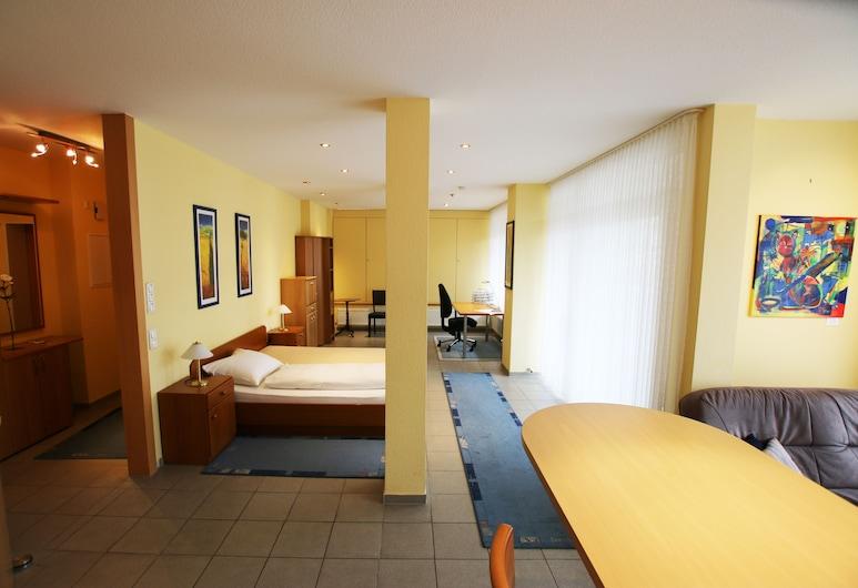 Hotel Garni Haffmans, Grefrath, Apartmán typu Business, Obývací prostor