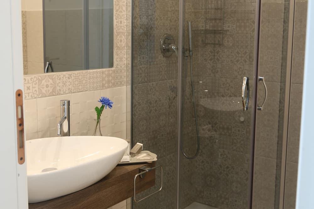Dvojlôžková izba typu Superior, výhľad na mesto - Kúpeľňa