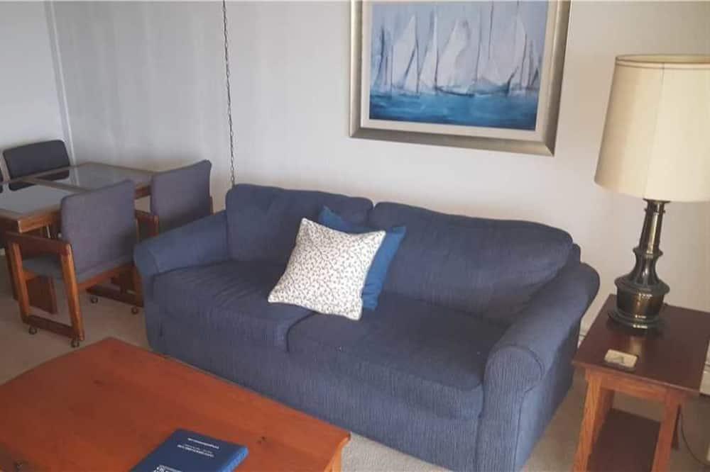 Condo, 1 Bedroom, Balcony, Ocean View - Living Area