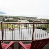 Leilighet, 2 soverom, balkong, delvis havutsikt - Balkong