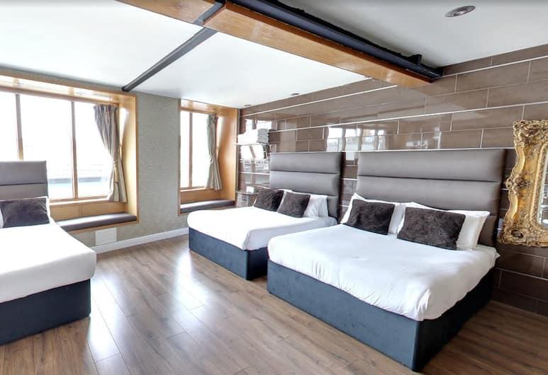 Signature Living Apart-hotel, Liverpool, Luxury Stüdyo Süit, 2 Yatak Odası, Jakuzi, Oda
