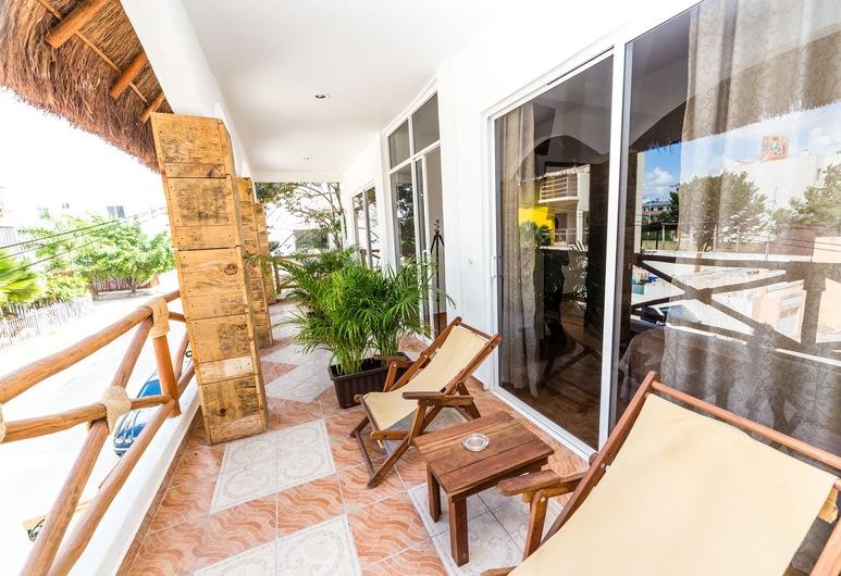Hotel Nicte Ha Tulum, Tulumas, Dvivietis kambarys, balkonas, Balkonas