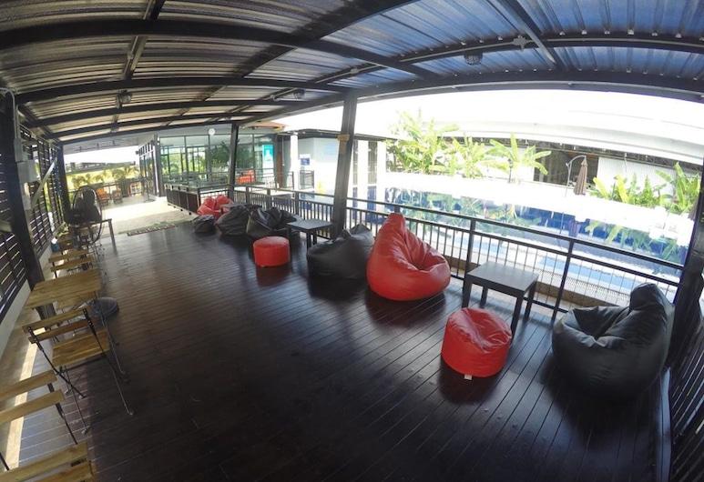 Kiat Nakhon Hotel, Nakhon Si Thammarat , Sæti í anddyri