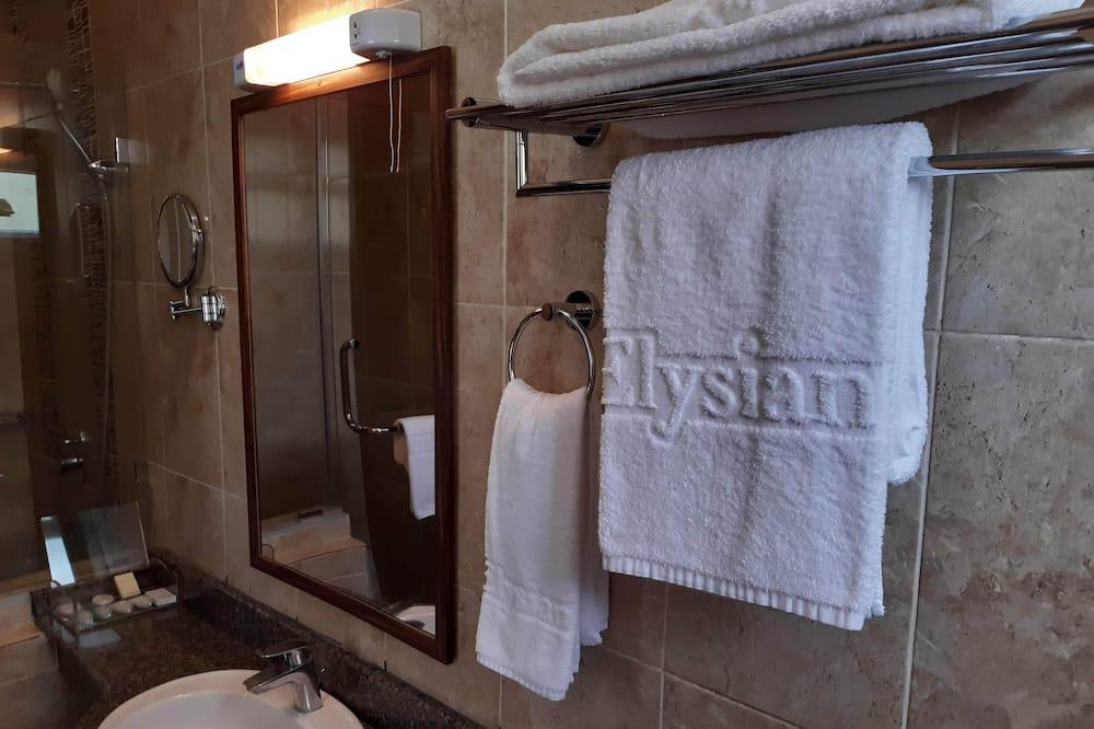 標準雙人房, 1 張標準雙人床 - 浴室
