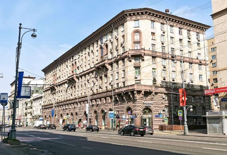 LUXKV Apartment on Tverskaya-Yamskaya, Moskva, Exteriör
