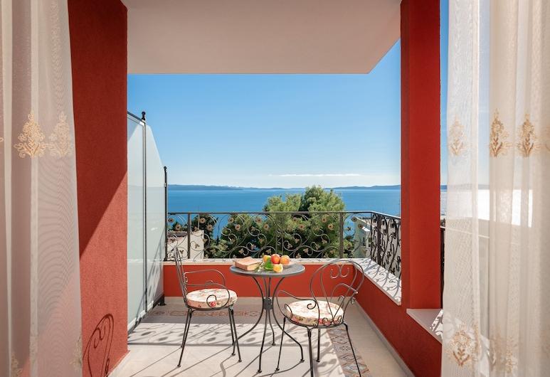 Hotel Cvita, ספליט, חדר אקסקלוסיבי זוגי, מרפסת, חדר אורחים