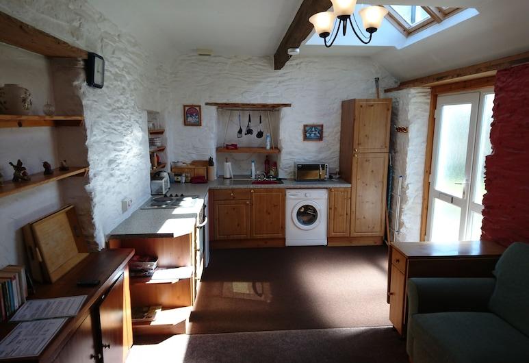 The Horseshoe Inn, Lochgilphead, Ferienhaus, 1 Doppelbett, Gartenblick, zum Garten hin, Zimmer