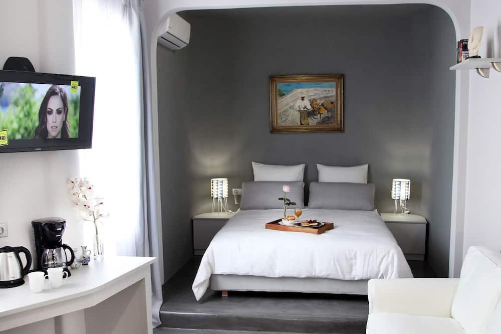 Cyclades, 30m2 Deluxe Room - Зона гостиной