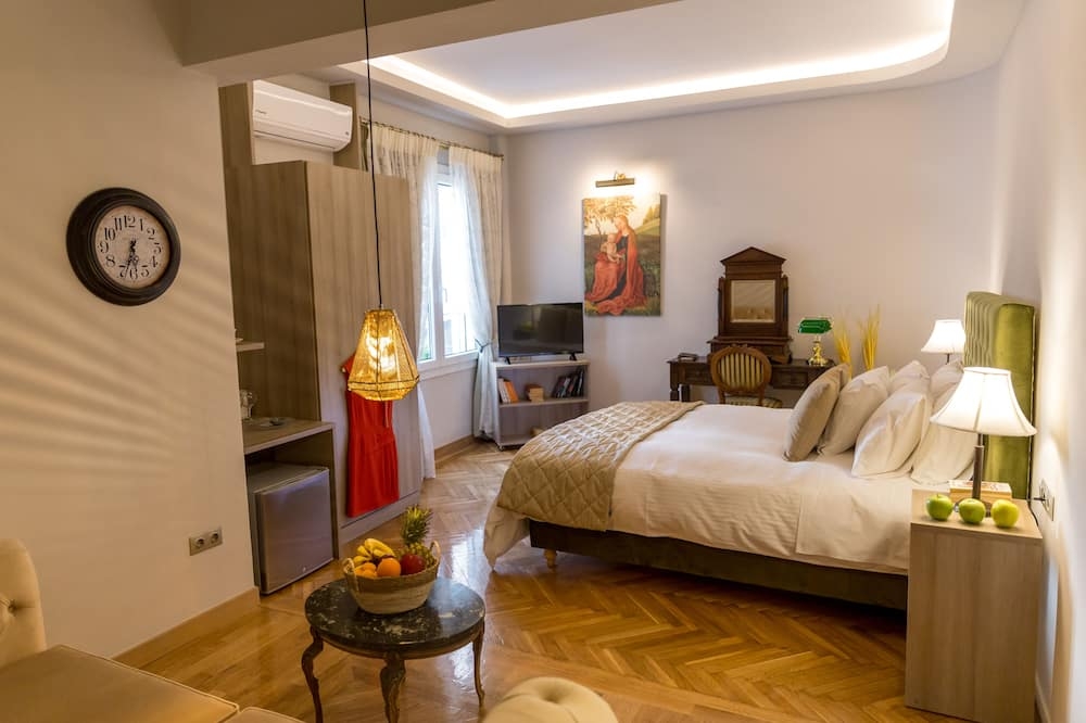 Hermes, 30m2 Deluxe Room - Зона гостиной