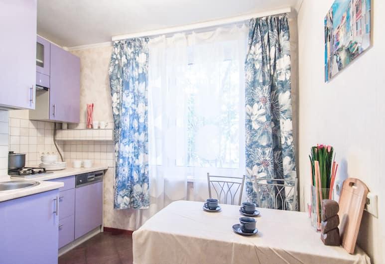 Funny Dolphins Apartments Kurskaya, Moskva, Apartman, 1 spavaća soba, Privatna kuhinja