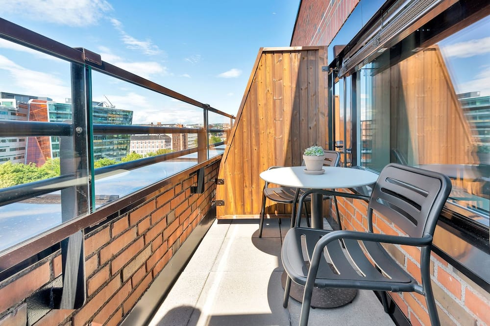 Ministudio Apartment For Two with Balcony - Balkonas