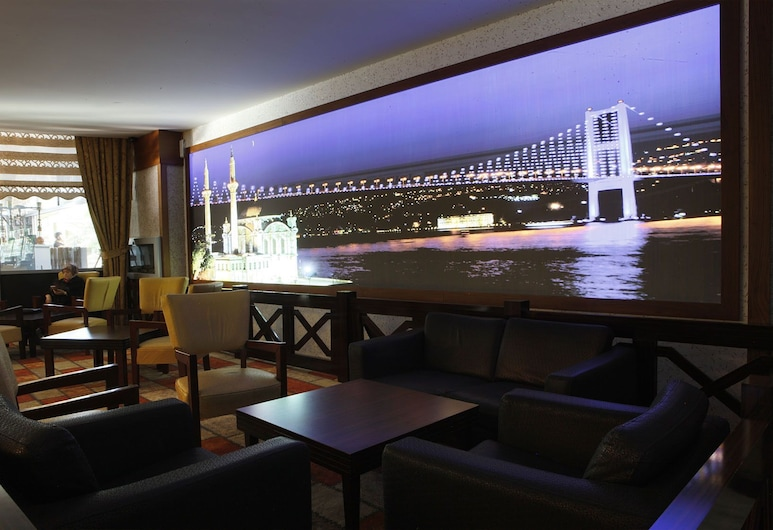 Bera Hotel Alanya - All Inclusive, Alanya, Salón en el lobby