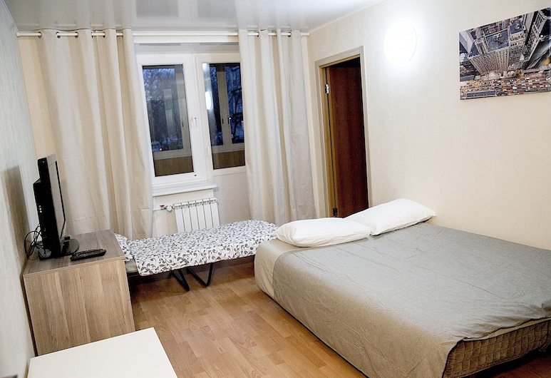 Funny Dolphins Apartments Baumanskaya, Moscow, Apartment, 2 Bedrooms, Room