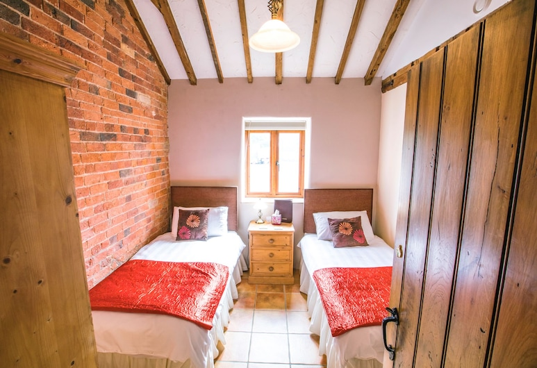 The Old Granary Bed & Breakfast, Lincoln, Værelse med 2 enkeltsenge - privat badeværelse, Værelse