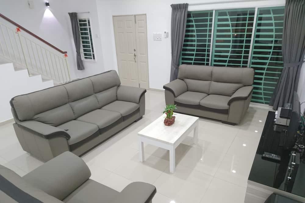 Maison Familiale, 4 chambres - Salle de séjour