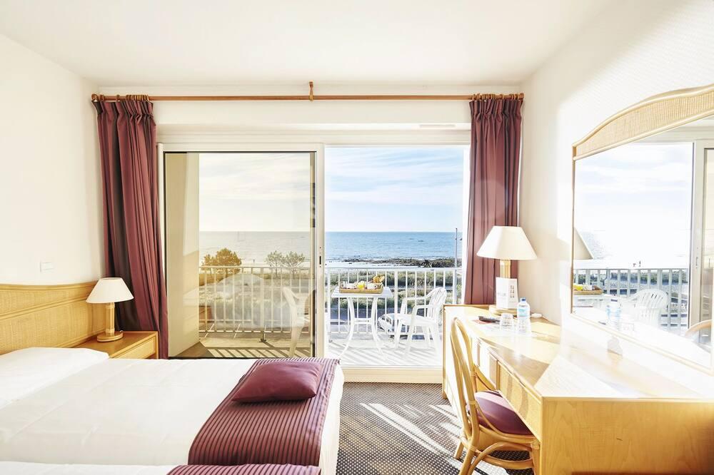 Classic Twin soba, pogled na more - Balkon