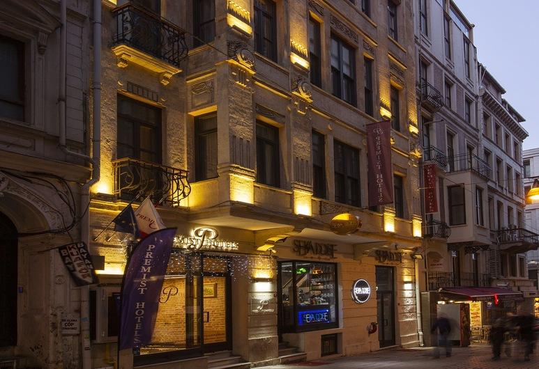 Premist Hotels Taksim, Istanbul, Facciata hotel (sera/notte)