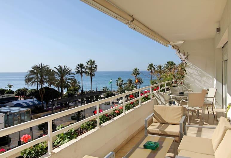 Apartamento Marbella Centro Av. Del Mar, Marbella, Leilighet – deluxe, 3 soverom (B), Terrasse/veranda