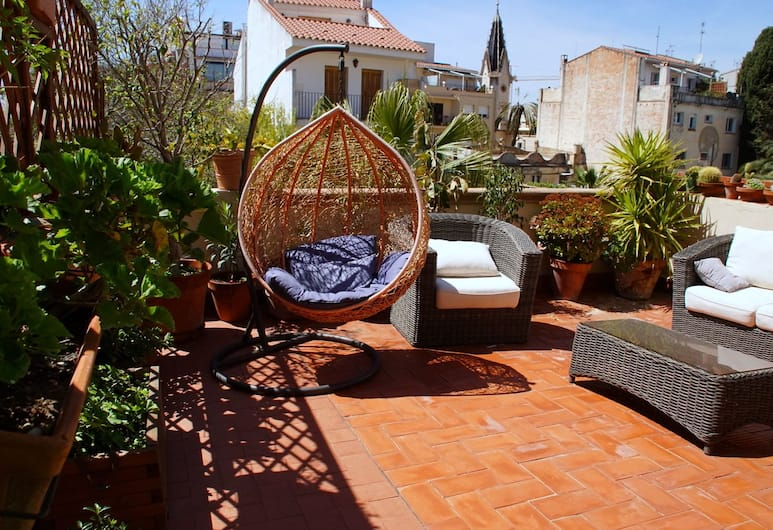 Sitges Royal Rooms, Sitges, Superior Double Room, Terrace, Guest Room