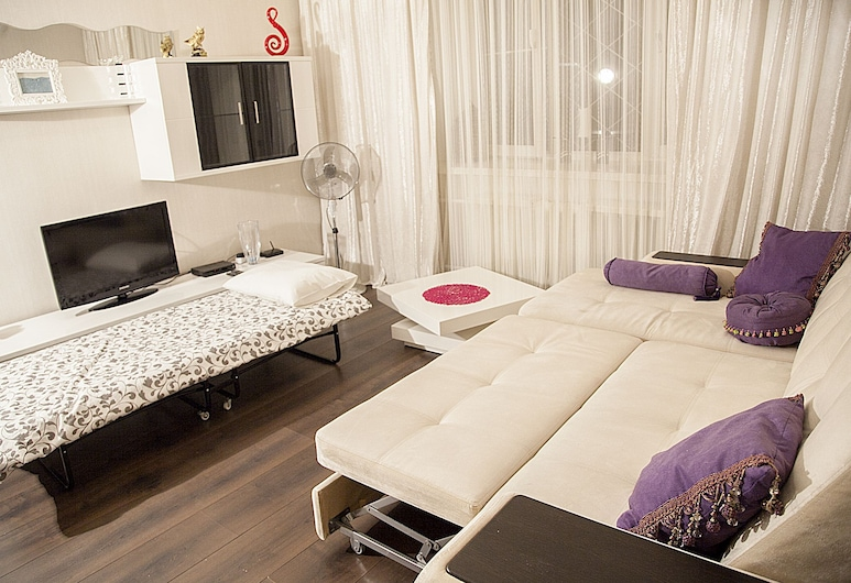 Funny Dolphins Apartments Nikoloyamskaya, Moskva, Apartman, 1 spavaća soba, Soba