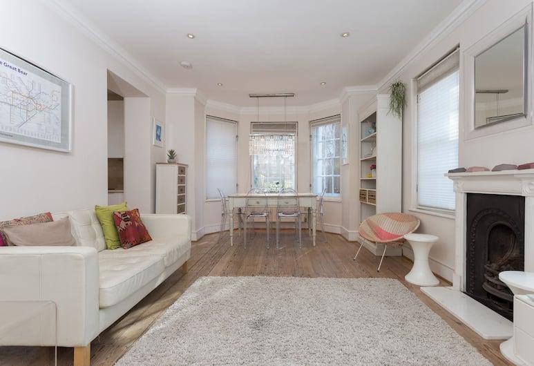 Kings Cross House Sleeps 6, London, Stadtwohnung, 3Schlafzimmer, Wohnbereich
