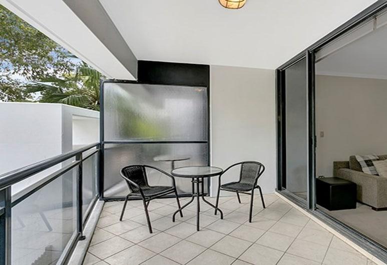服務式公寓 HERB1 酒店, 聖里奧納德, 公寓, 1 間臥室, 可使用泳池, 陽台