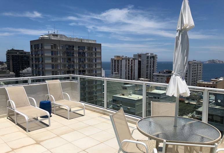 My Rio Penthouse Ipanema Beach, Rio de Janeiro, Penthouse Panorama, 1 kamar tidur, pemandangan samudra, Kamar
