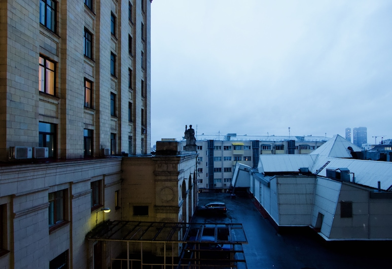 LUXKV Apartment on Kudrinskaya Ploschad, Moskva, Íbúð, Borgarútsýni