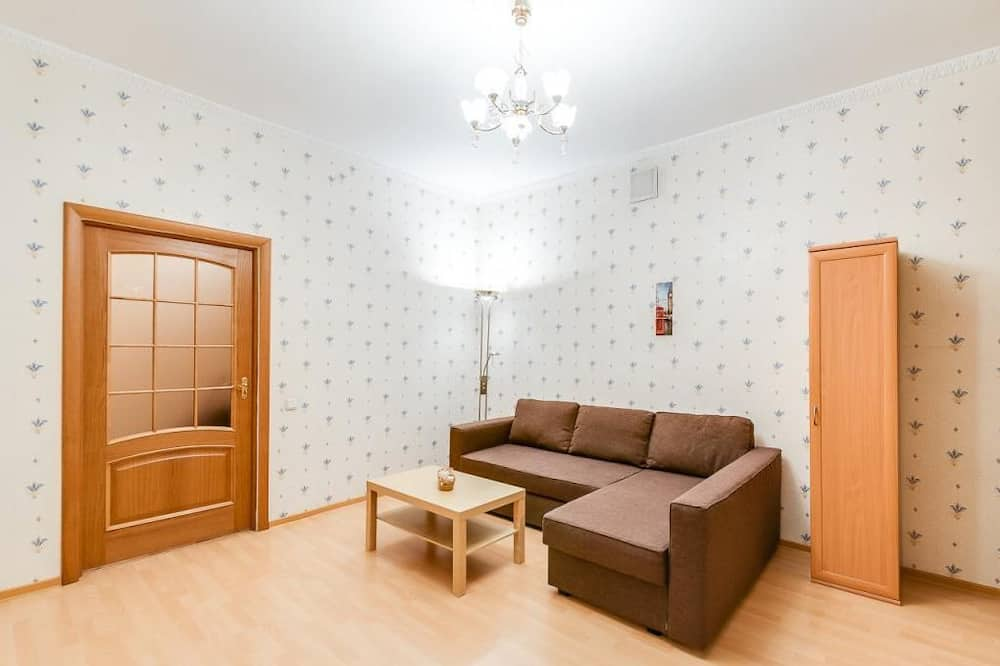 Apartmán typu Comfort, 1 spálňa, vírivka - Obývačka