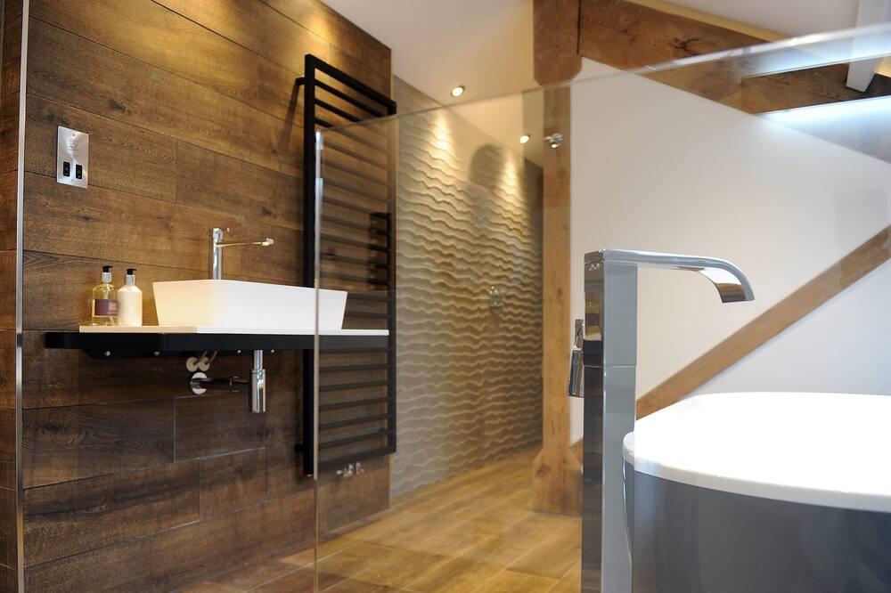 "Luksus-suite - eget badeværelse (""Fells"") - Badeværelse"