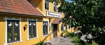Foto av Spångens Gästgivaregård i Ljungbyhed