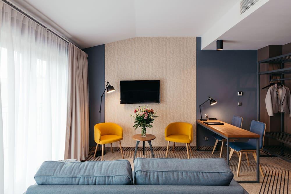 Superior-Doppel- oder -Zweibettzimmer, 1 Schlafzimmer - Wohnbereich