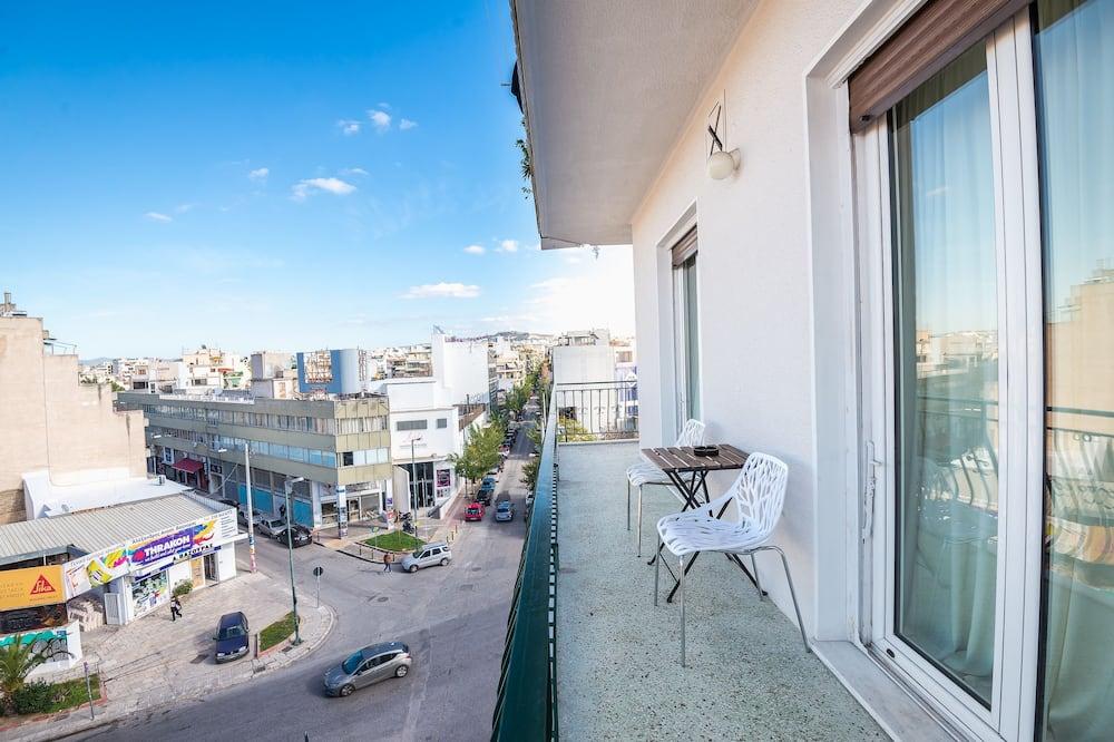 apartman, 4 hálószobával (Super Paradise Acropolis View) - Erkély