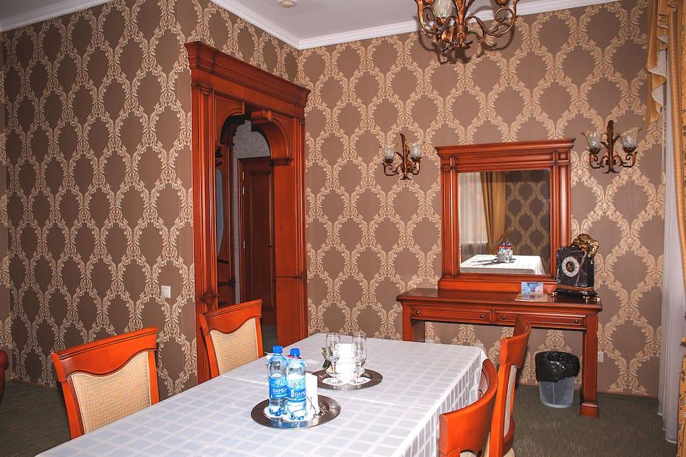 جناح سوبيريور - غرفة نوم واحدة (two rooms) - منطقة المعيشة