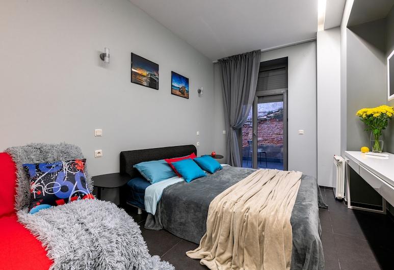 RentalSPb on Orlovsky Pereulok 3, St. Petersburg, Eenvoudig appartement, Woonruimte