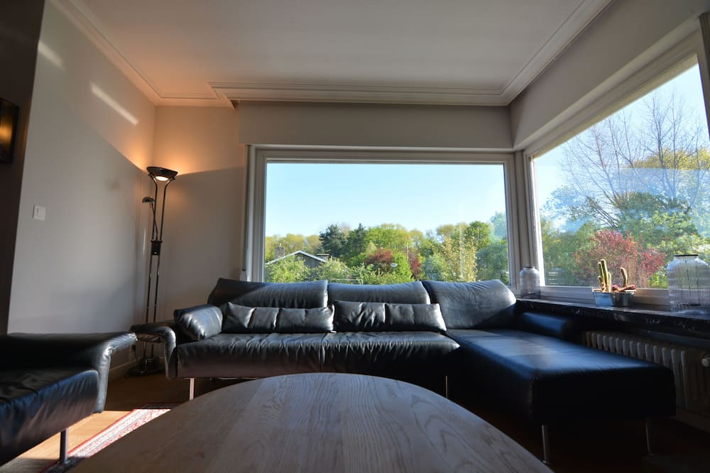 Villa familiar, 5 habitaciones, vista al jardín - Sala de estar