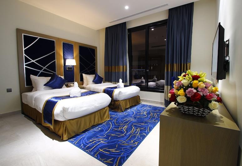 Diwan Residence Hotel Alnaeem, Djeddah, Chambre avec lits jumeaux, Chambre