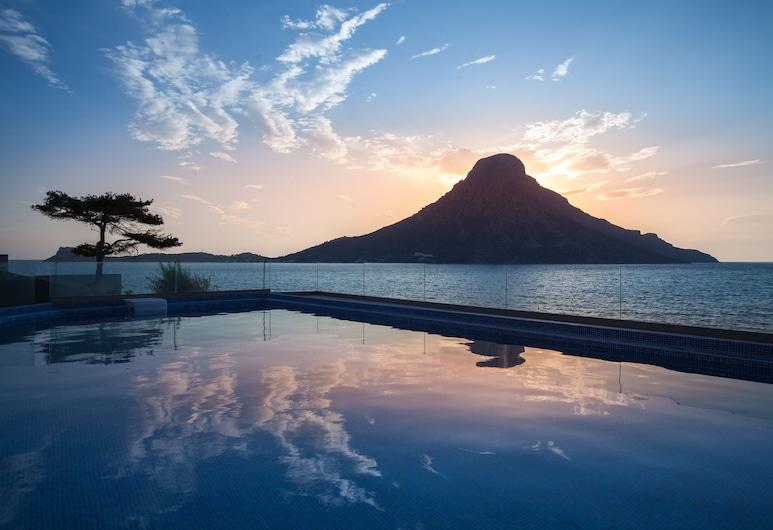 卡里昂酒店, 卡利姆諾斯島, 無邊際泳池