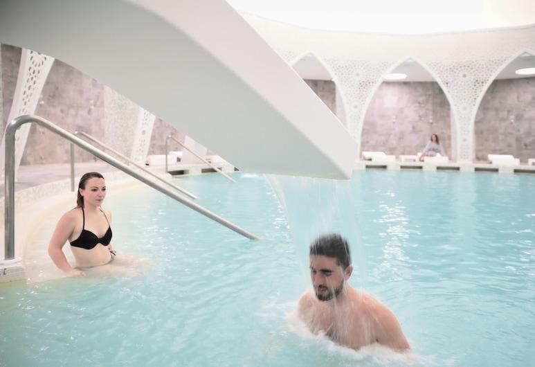 Vichy Thermalia Spa Hotel Moulay Yacoub, Себа-Руади, Закрытый бассейн