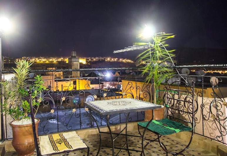 Dar el Mathaf, Fès, Terrasse/Patio