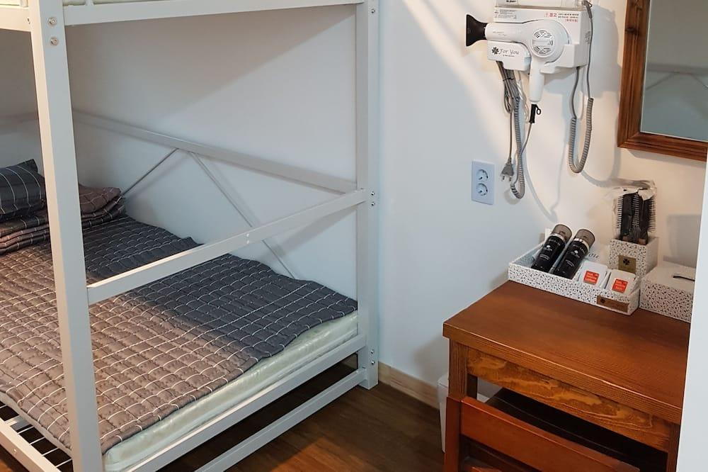 Dormitorio compartido familiar, dormitorio mixto - Sala de estar