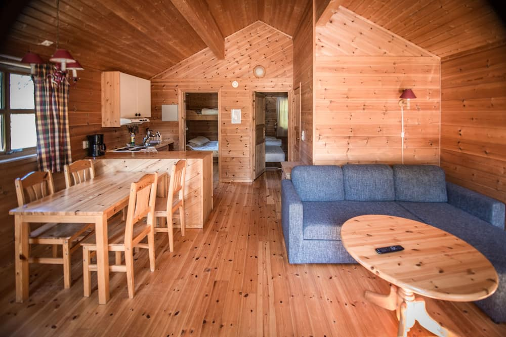 Cabin, 2 Bedrooms (cleaning, linen, towels not included) - Ruang Tamu