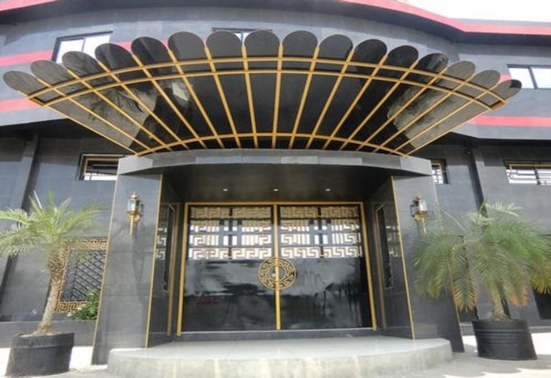 Freeman Hôtel, Abidjan, Hotellets indgang