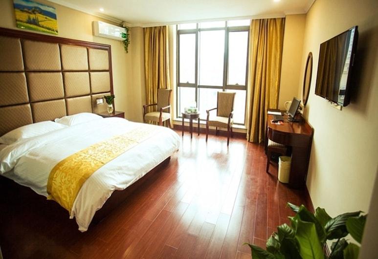 GreenTree Inn Jianyan Renmin Middle Road Estern Sleepless City Pedestrian Express Hotel, Taizhou, Business Double Room , Guest Room