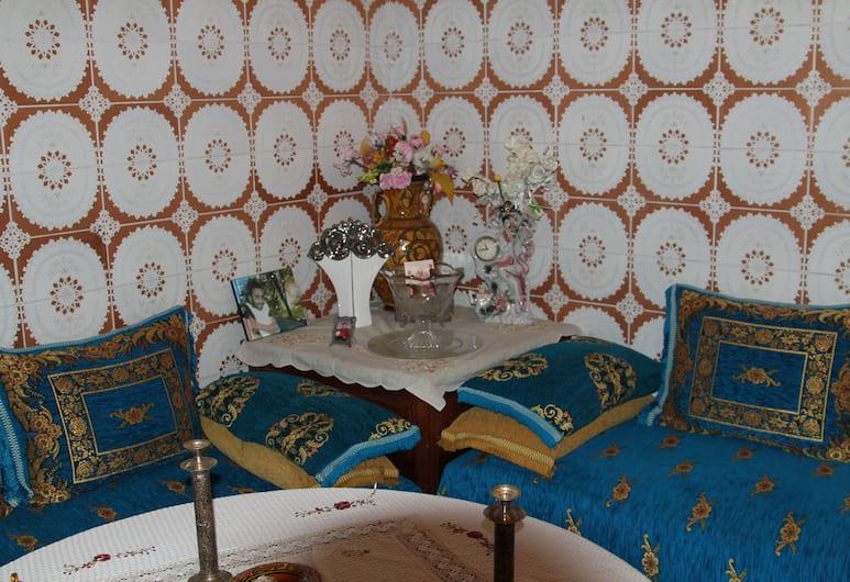 Riad Raffaa, Marrakech, Salon de la réception