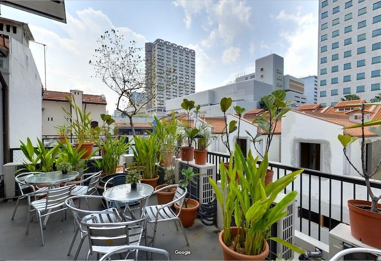 賈密拉精品飯店青年旅舍, 新加坡, 露台