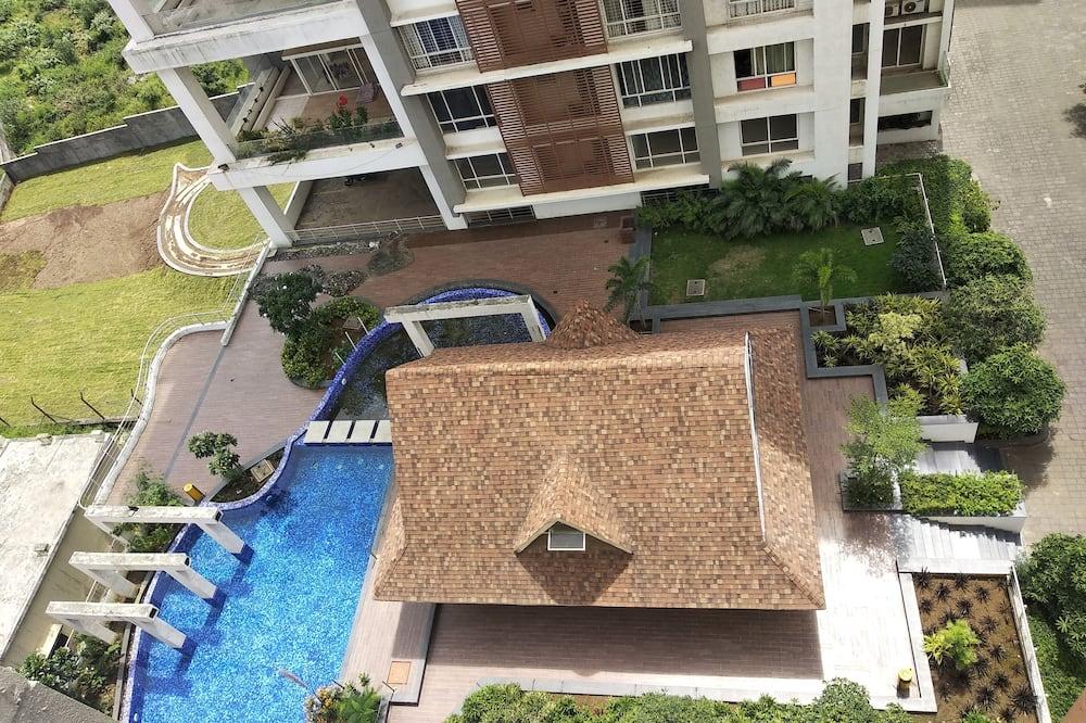 Habitación familiar doble, 1 habitación, vistas a la ciudad - Vistas al patio
