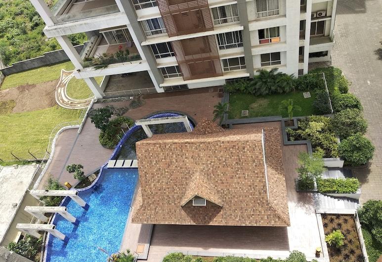 Advantage 2u Hospitality Management Pvt.Ltd, Pune, Rodinný pokoj s dvojlůžkem, 1 ložnice, výhled na město, Výhled do dvora