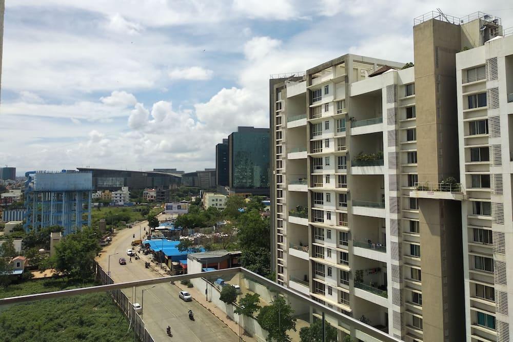 Habitación familiar doble, 1 habitación, vistas a la ciudad - Vistas al balcón