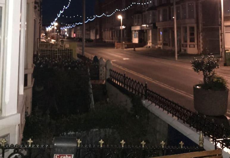 The Merlin, Blackpool, Blick vom Hotel